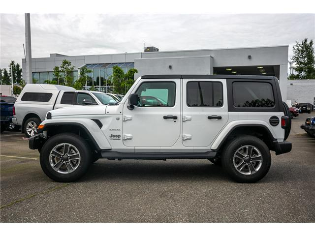 2019 Jeep Wrangler Unlimited Sahara (Stk: K596820) in Abbotsford - Image 4 of 22
