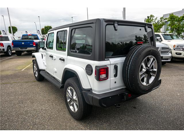 2019 Jeep Wrangler Unlimited Sahara (Stk: K596820) in Abbotsford - Image 5 of 22