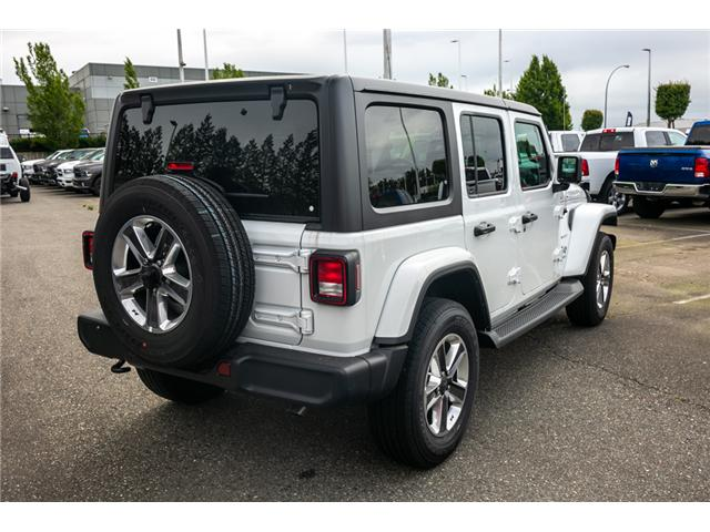 2019 Jeep Wrangler Unlimited Sahara (Stk: K596820) in Abbotsford - Image 7 of 22