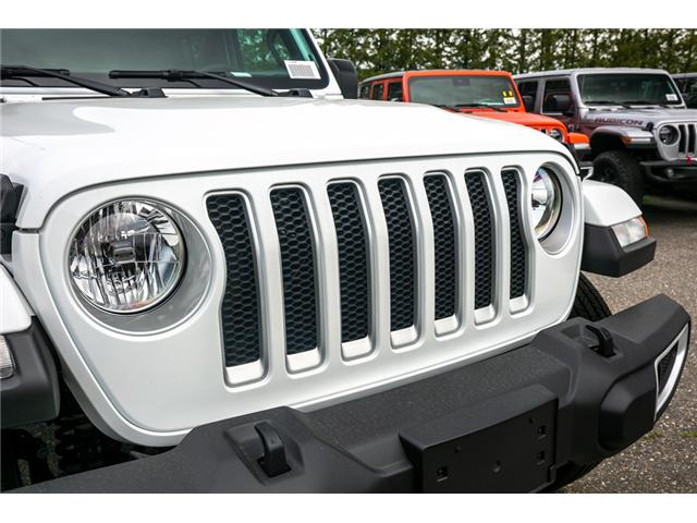 2019 Jeep Wrangler Unlimited Sahara (Stk: K596820) in Abbotsford - Image 10 of 22