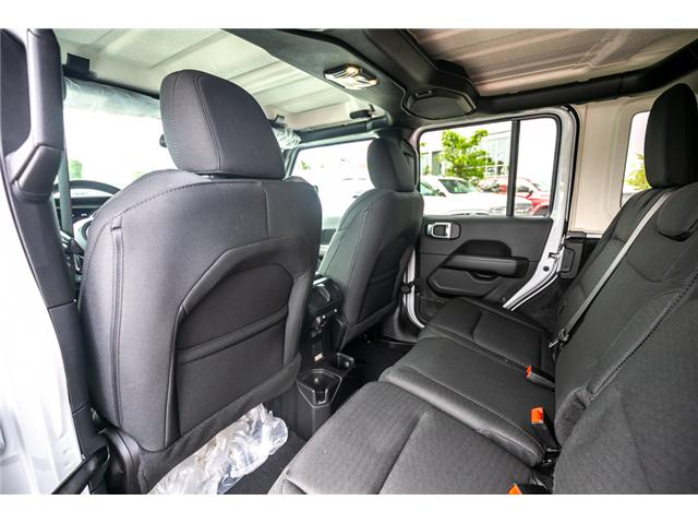 2019 Jeep Wrangler Unlimited Sahara (Stk: K596820) in Abbotsford - Image 14 of 22