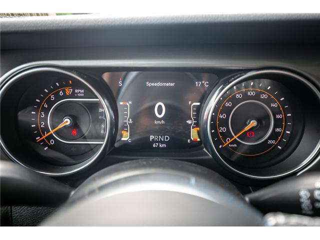 2019 Jeep Wrangler Unlimited Sahara (Stk: K596820) in Abbotsford - Image 20 of 22