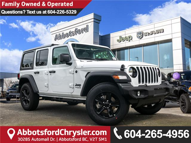 2019 Jeep Wrangler Unlimited Sport (Stk: K633721) in Abbotsford - Image 1 of 19