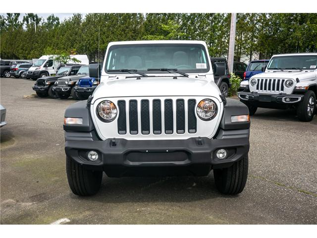 2019 Jeep Wrangler Unlimited Sport (Stk: K633721) in Abbotsford - Image 2 of 19