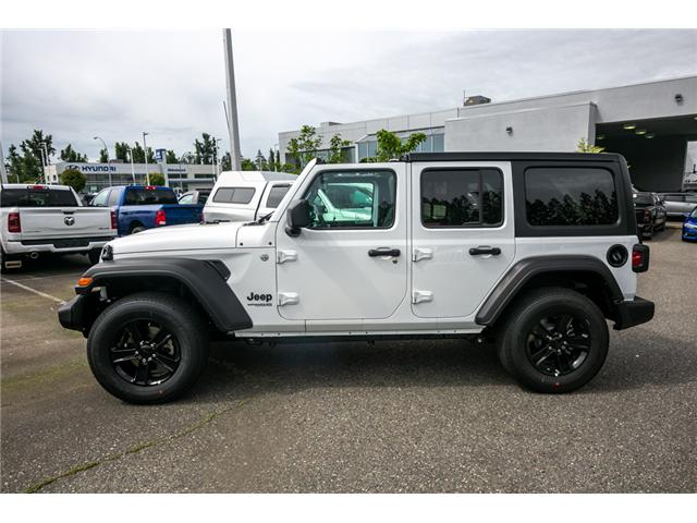 2019 Jeep Wrangler Unlimited Sport (Stk: K633721) in Abbotsford - Image 4 of 19