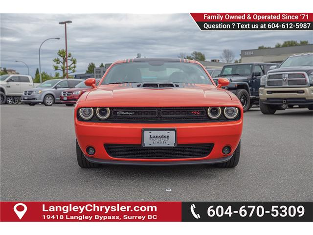 2017 Dodge Challenger R/T (Stk: EE909250) in Surrey - Image 2 of 26