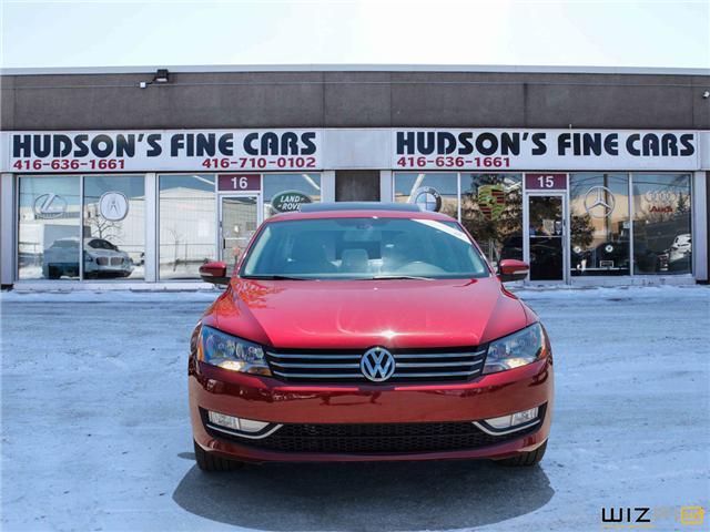 2015 Volkswagen Passat 1.8 TSI Comfortline (Stk: 51196) in Toronto - Image 2 of 30