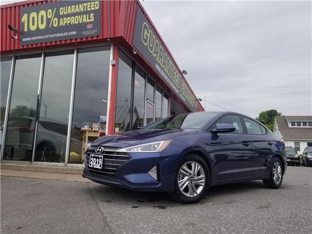 2019 Hyundai Elantra Preferred (Stk: DE19349) in Ottawa - Image 1 of 17