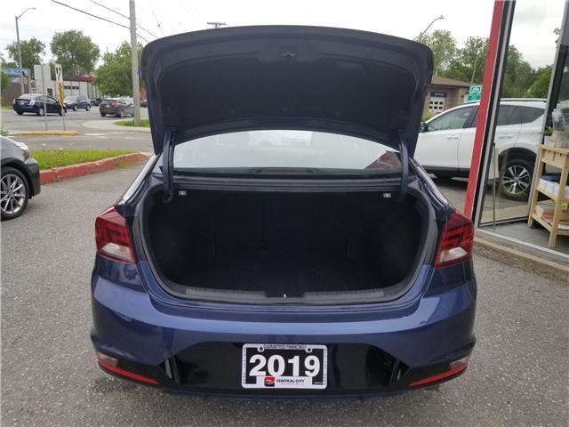 2019 Hyundai Elantra Preferred (Stk: DE19349) in Ottawa - Image 16 of 17