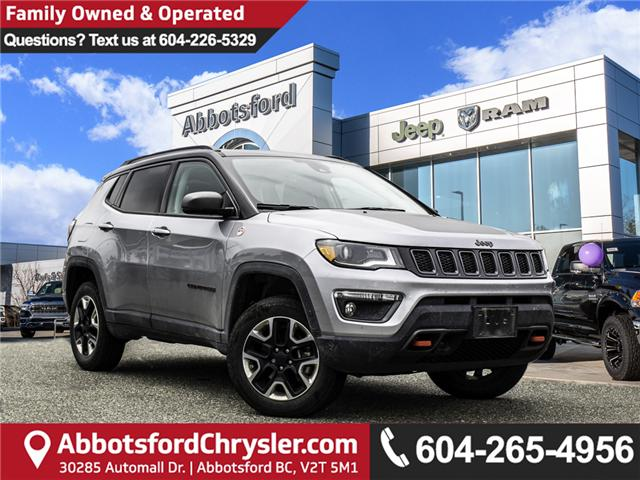 2018 Jeep Compass Trailhawk (Stk: K626178A) in Abbotsford - Image 1 of 28