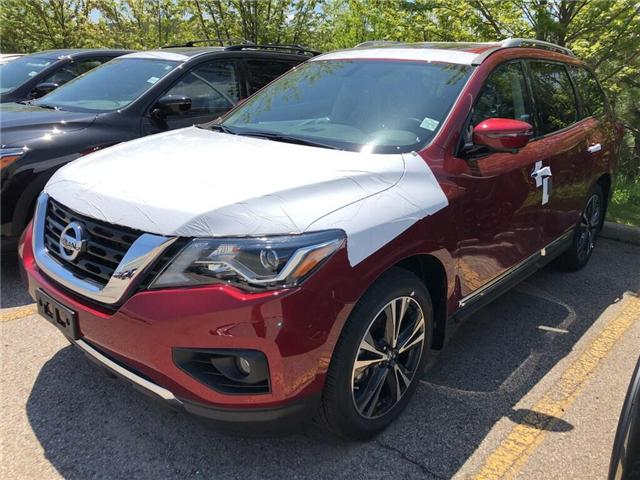 2019 Nissan Pathfinder Platinum (Stk: Y4029) in Burlington - Image 1 of 5