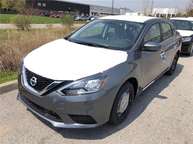 2019 Nissan Sentra 1.8 S (Stk: Y6023) in Burlington - Image 1 of 5
