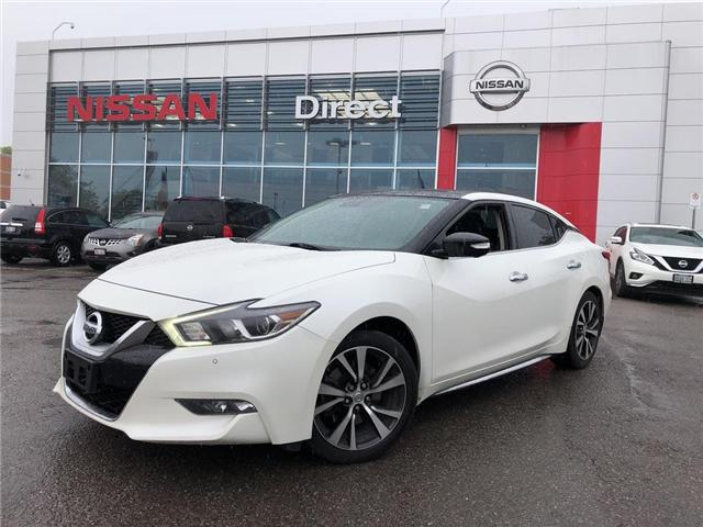 2016 Nissan Maxima PLATINUM | NO ACCIDENTS  (Stk: N3943A) in Mississauga - Image 1 of 21
