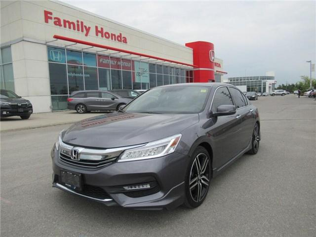 2017 Honda Accord Touring V6, SUCH LOW KMS! (Stk: 9801934A) in Brampton - Image 1 of 30
