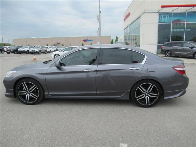 2017 Honda Accord Touring V6, SUCH LOW KMS! (Stk: 9801934A) in Brampton - Image 2 of 30