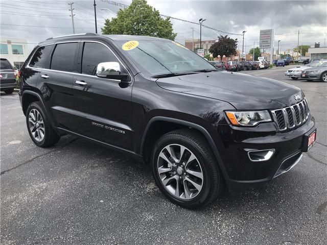 2018 Jeep Grand Cherokee Limited (Stk: 19897A) in Windsor - Image 1 of 14