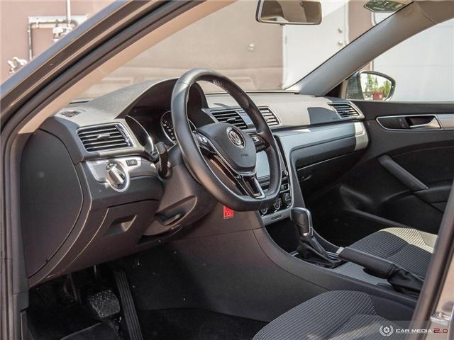 2018 Volkswagen Passat 2.0 TSI Trendline+ (Stk: D1349) in Regina - Image 11 of 26