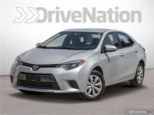 2016 Toyota Corolla CE (Stk: D1345) in Regina - Image 1 of 28