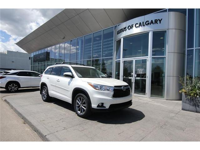 2015 Toyota Highlander Limited (Stk: 190564A) in Calgary - Image 1 of 14