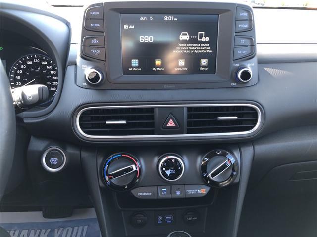 2019 Hyundai KONA 2.0L Preferred (Stk: -) in Kemptville - Image 19 of 30