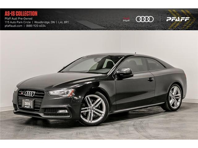 2015 Audi S5 3.0T Technik (Stk: T16134A) in Woodbridge - Image 1 of 22