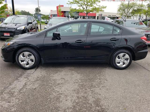 2015 Honda Civic LX (Stk: 326392A) in Mississauga - Image 2 of 22