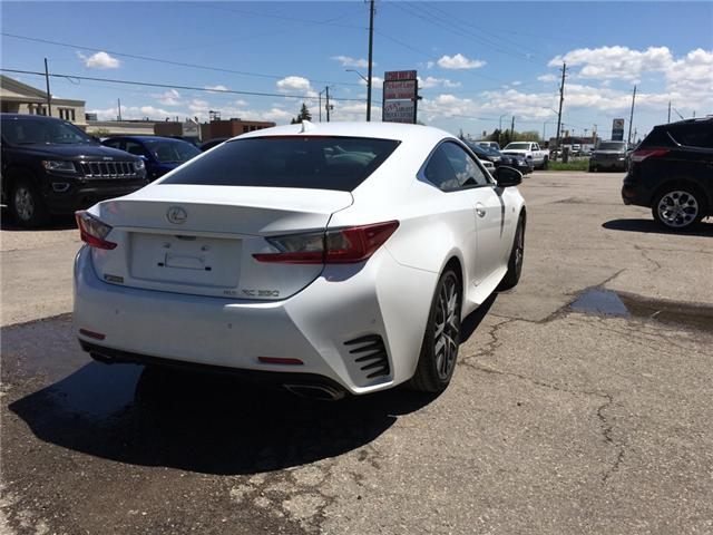 2015 Lexus RC 350 Base (Stk: ) in Bolton - Image 5 of 27
