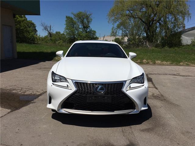 2015 Lexus RC 350 Base (Stk: ) in Bolton - Image 8 of 27