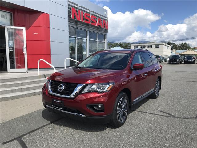 2019 Nissan Pathfinder Platinum (Stk: N96-3662) in Chilliwack - Image 1 of 23