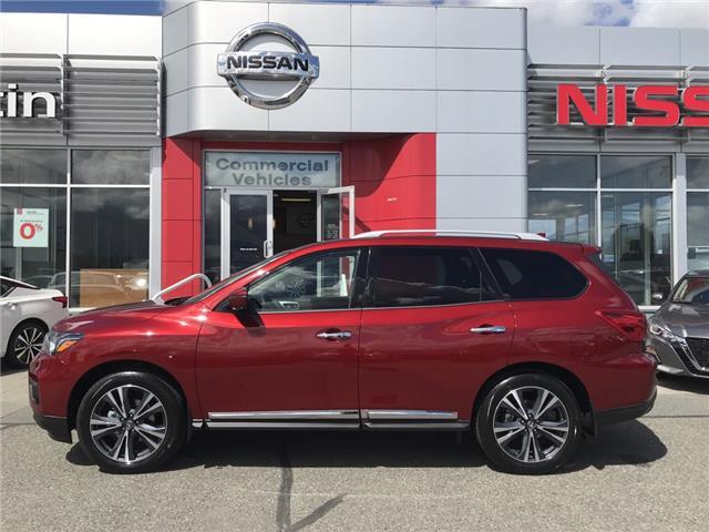 2019 Nissan Pathfinder Platinum (Stk: N96-3662) in Chilliwack - Image 8 of 23