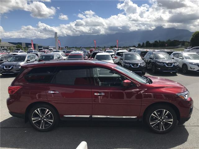 2019 Nissan Pathfinder Platinum (Stk: N96-3662) in Chilliwack - Image 4 of 23
