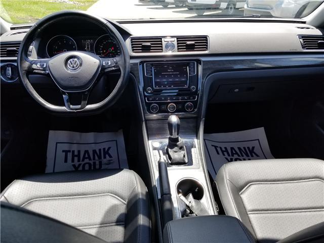 2016 Volkswagen Passat 1.8 TSI Comfortline (Stk: 19SB493B) in Innisfil - Image 13 of 18