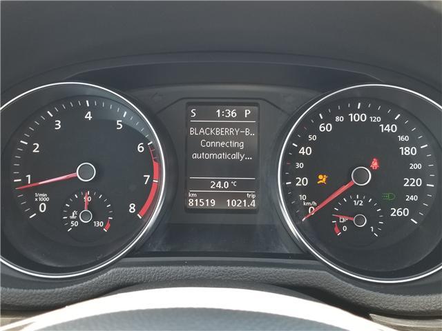 2016 Volkswagen Passat 1.8 TSI Comfortline (Stk: 19SB493B) in Innisfil - Image 16 of 18