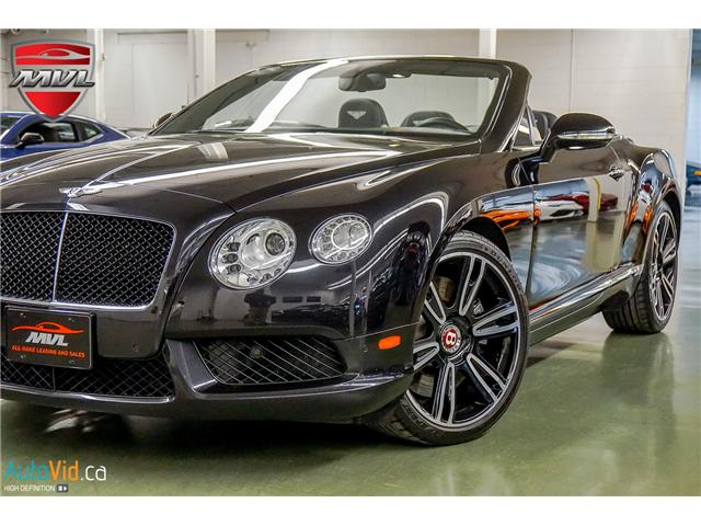 2013 Bentley Continental GTC V8 SCBGT3ZA2DC084932  in Oakville