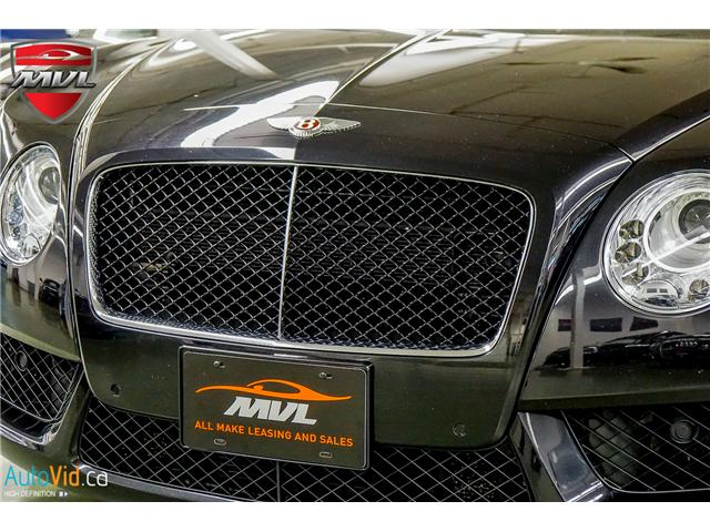 2013 Bentley Continental GTC V8 (Stk: ) in Oakville - Image 11 of 45