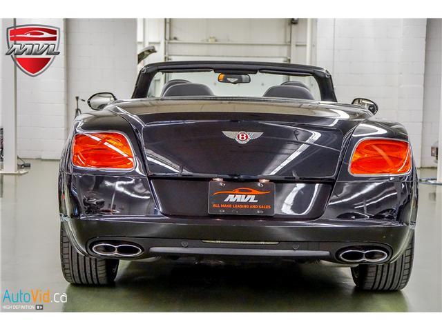 2013 Bentley Continental GTC V8 (Stk: ) in Oakville - Image 6 of 45