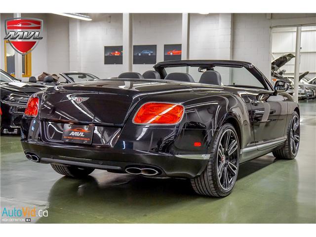 2013 Bentley Continental GTC V8 (Stk: ) in Oakville - Image 7 of 45