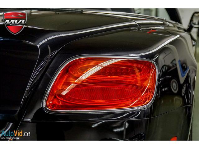 2013 Bentley Continental GTC V8 (Stk: ) in Oakville - Image 13 of 45