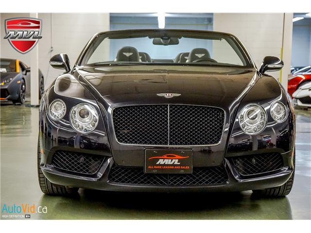 2013 Bentley Continental GTC V8 (Stk: ) in Oakville - Image 10 of 45