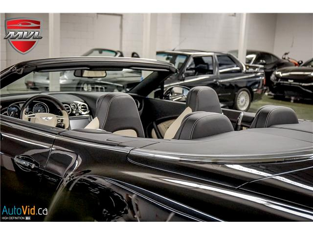 2013 Bentley Continental GTC V8 (Stk: ) in Oakville - Image 19 of 45