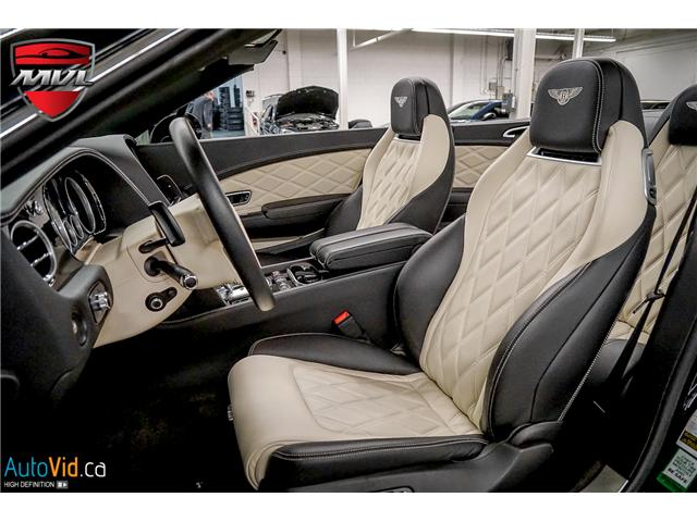2013 Bentley Continental GTC V8 (Stk: ) in Oakville - Image 20 of 45