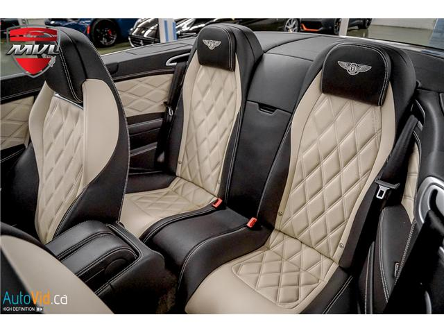 2013 Bentley Continental GTC V8 (Stk: ) in Oakville - Image 35 of 45