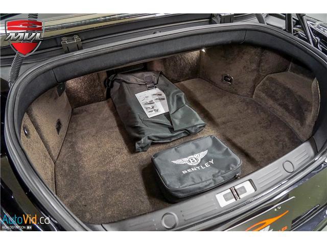 2013 Bentley Continental GTC V8 (Stk: ) in Oakville - Image 37 of 45
