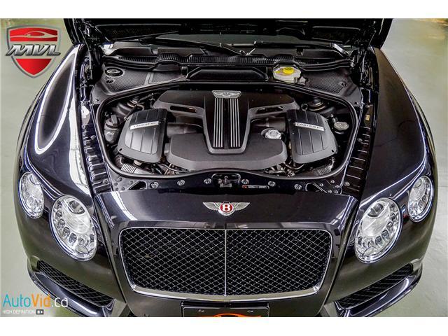 2013 Bentley Continental GTC V8 (Stk: ) in Oakville - Image 38 of 45