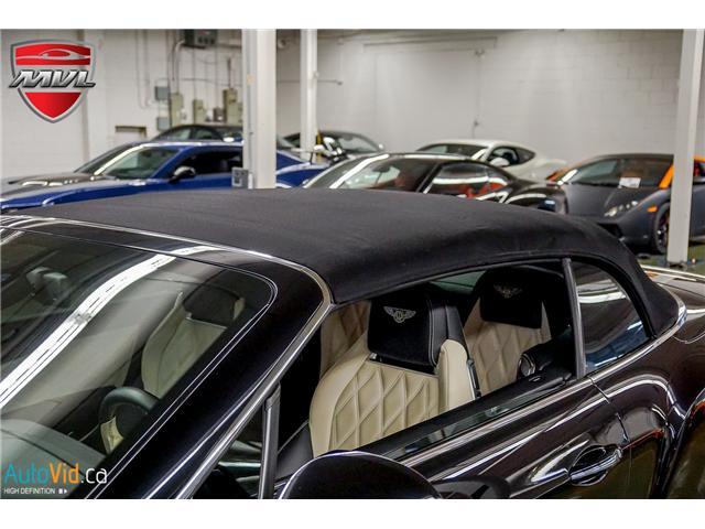 2013 Bentley Continental GTC V8 (Stk: ) in Oakville - Image 40 of 45