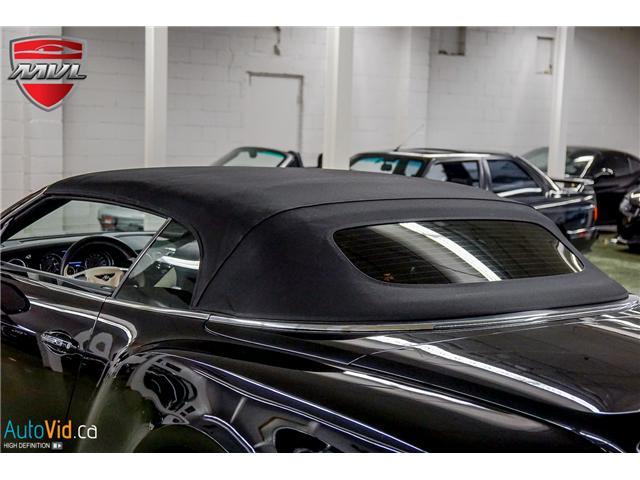 2013 Bentley Continental GTC V8 (Stk: ) in Oakville - Image 41 of 45