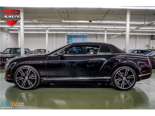 2013 Bentley Continental GTC V8 (Stk: ) in Oakville - Image 42 of 45