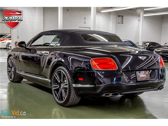 2013 Bentley Continental GTC V8 (Stk: ) in Oakville - Image 43 of 45