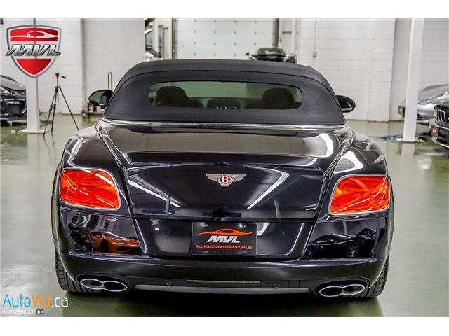 2013 Bentley Continental GTC V8 (Stk: ) in Oakville - Image 44 of 45
