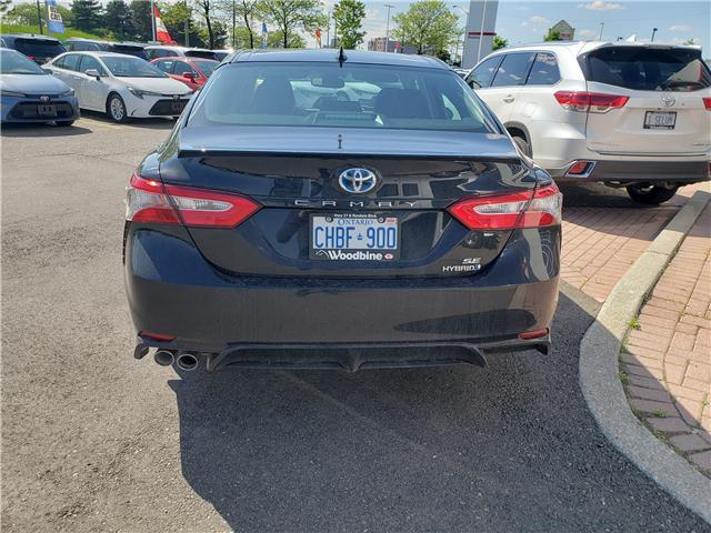 2019 Toyota Camry Hybrid SE (Stk: 9-837) in Etobicoke - Image 5 of 12